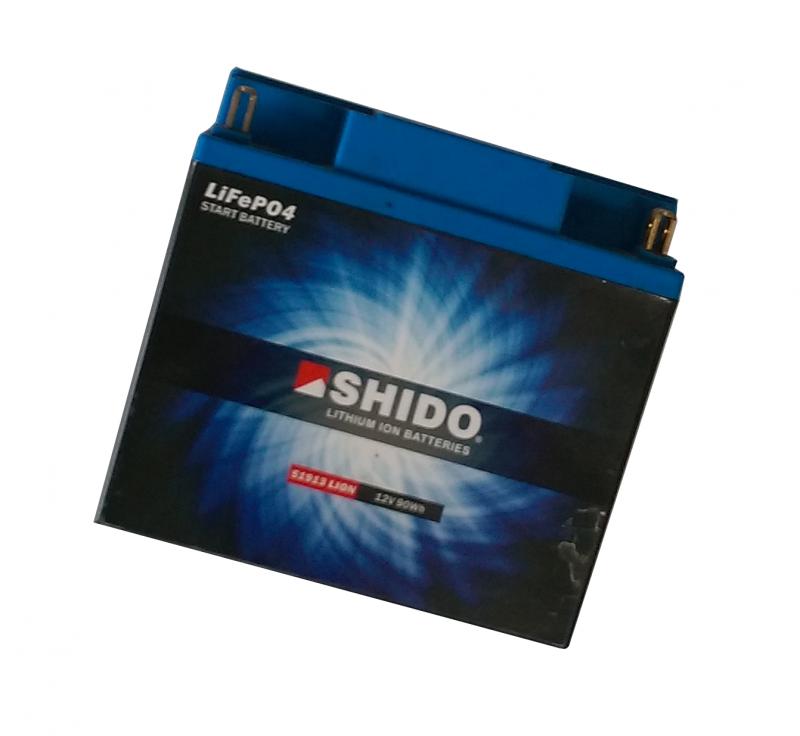 SHIDO Ultraleichte Motorsport Batterie